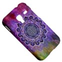 Flower Of Life Indian Ornaments Mandala Universe Samsung Galaxy Ace Plus S7500 Hardshell Case View5