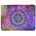 Flower Of Life Indian Ornaments Mandala Universe Samsung Galaxy Tab 7  P1000 Flip Case View1
