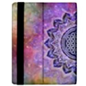 Flower Of Life Indian Ornaments Mandala Universe Samsung Galaxy Tab 10.1  P7500 Flip Case View2