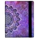Flower Of Life Indian Ornaments Mandala Universe Samsung Galaxy Tab 10.1  P7500 Flip Case View3