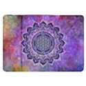 Flower Of Life Indian Ornaments Mandala Universe Samsung Galaxy Tab 8.9  P7300 Flip Case View1