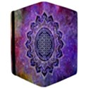 Flower Of Life Indian Ornaments Mandala Universe iPad Air Flip View3