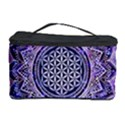Flower Of Life Indian Ornaments Mandala Universe Cosmetic Storage Case View1