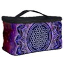 Flower Of Life Indian Ornaments Mandala Universe Cosmetic Storage Case View2
