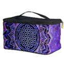 Flower Of Life Indian Ornaments Mandala Universe Cosmetic Storage Case View3