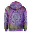 Flower Of Life Indian Ornaments Mandala Universe Men s Pullover Hoodie View2