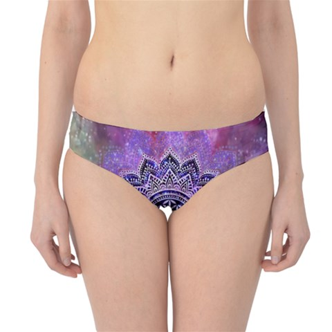 Flower Of Life Indian Ornaments Mandala Universe Hipster Bikini Bottoms