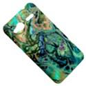 Fractal Batik Art Teal Turquoise Salmon HTC Radar Hardshell Case  View5