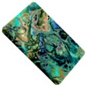 Fractal Batik Art Teal Turquoise Salmon Kindle Fire (1st Gen) Hardshell Case View5