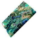 Fractal Batik Art Teal Turquoise Salmon Apple iPad 3/4 Hardshell Case View4