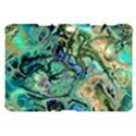Fractal Batik Art Teal Turquoise Salmon Samsung Galaxy Tab 10.1  P7500 Hardshell Case  View1
