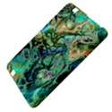 Fractal Batik Art Teal Turquoise Salmon Kindle Fire HD 8.9  View4