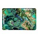 Fractal Batik Art Teal Turquoise Salmon Nexus 7 (2012) View1