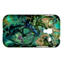 Fractal Batik Art Teal Turquoise Salmon Samsung Galaxy Ace Plus S7500 Hardshell Case View1
