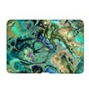 Fractal Batik Art Teal Turquoise Salmon Samsung Galaxy Tab 2 (10.1 ) P5100 Hardshell Case  View1