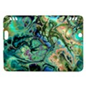 Fractal Batik Art Teal Turquoise Salmon Kindle Fire HDX Hardshell Case View1