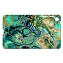 Fractal Batik Art Teal Turquoise Salmon Nexus 7 (2013) View1