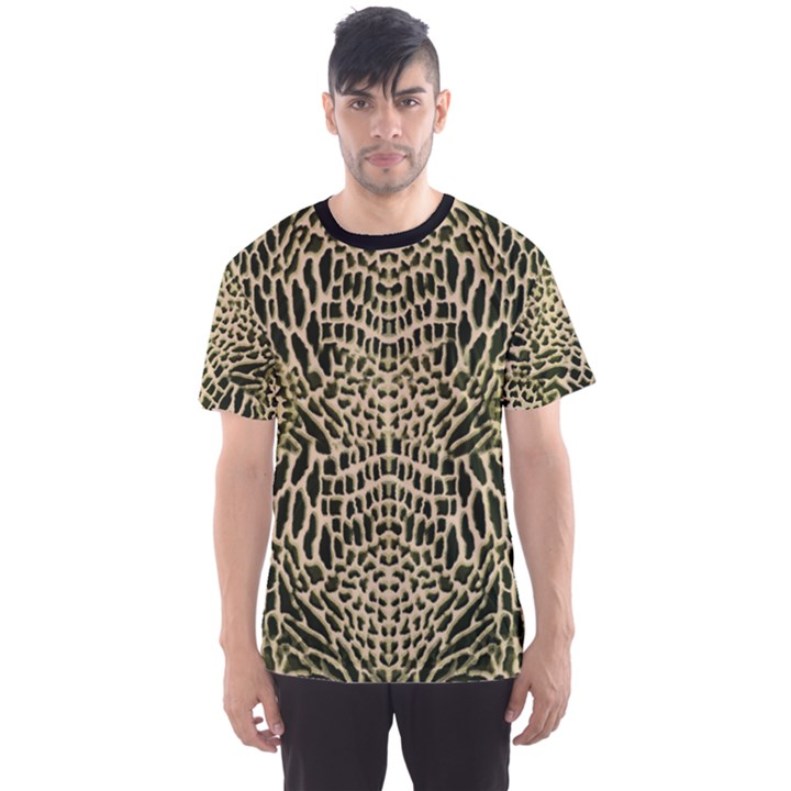 BROWN REPTILE Men s Sport Mesh Tee