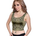 BROWN REPTILE Crop Top View1