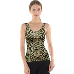 BROWN REPTILE Tank Top