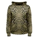 BROWN REPTILE Women s Pullover Hoodie View1