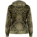 BROWN REPTILE Women s Pullover Hoodie View2