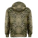 BROWN REPTILE Men s Zipper Hoodie View2