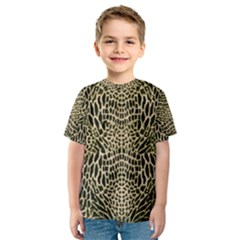 BROWN REPTILE Kids  Sport Mesh Tee