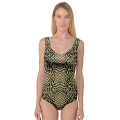 BROWN REPTILE Princess Tank Leotard
