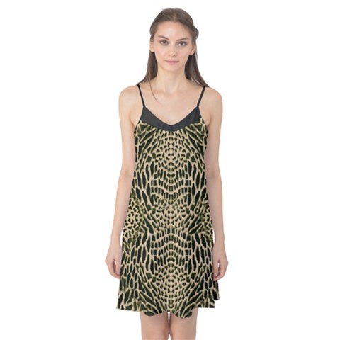 BROWN REPTILE Camis Nightgown