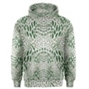 GREEN SNAKE TEXTURE Men s Pullover Hoodie View1