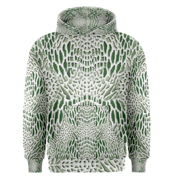 GREEN SNAKE TEXTURE Men s Pullover Hoodie