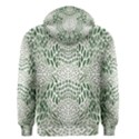 GREEN SNAKE TEXTURE Men s Zipper Hoodie View2
