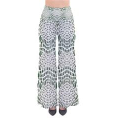 Green Snake Texture Pants