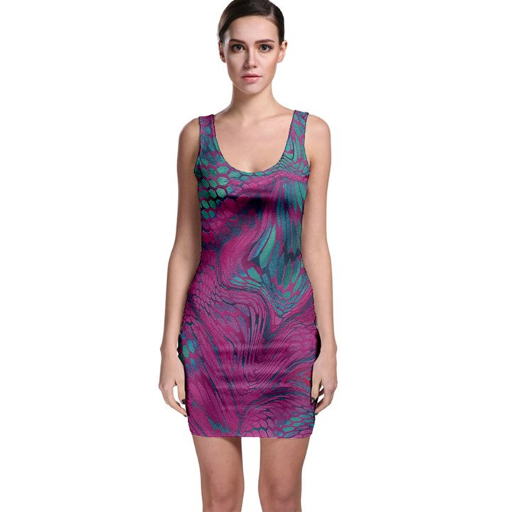 ASIA DRAGON Sleeveless Bodycon Dress
