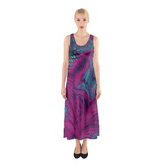 ASIA DRAGON Sleeveless Maxi Dress