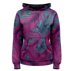 ASIA DRAGON Women s Pullover Hoodie