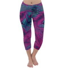 ASIA DRAGON Capri Winter Leggings