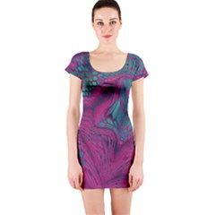 ASIA DRAGON Short Sleeve Bodycon Dress