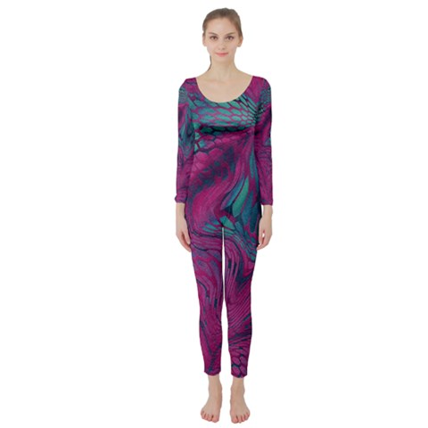 ASIA DRAGON Long Sleeve Catsuit