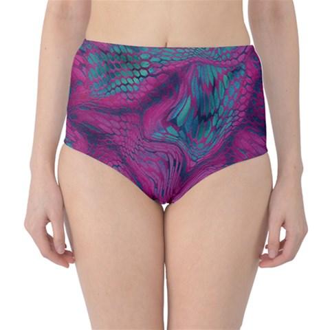 ASIA DRAGON High-Waist Bikini Bottoms