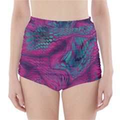 ASIA DRAGON High-Waisted Bikini Bottoms