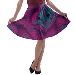 ASIA DRAGON A-line Skater Skirt