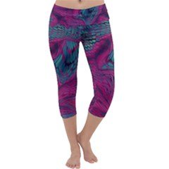 ASIA DRAGON Capri Yoga Leggings
