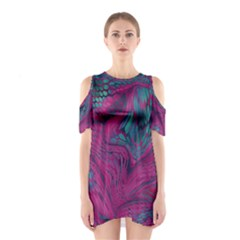 ASIA DRAGON Cutout Shoulder Dress
