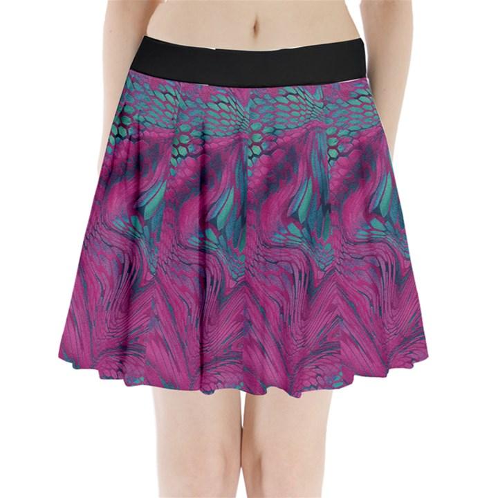 ASIA DRAGON Pleated Mini Skirt