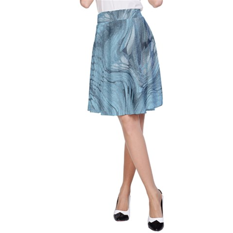 FROST DRAGON A-Line Skirt