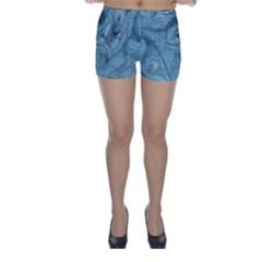FROST DRAGON Skinny Shorts