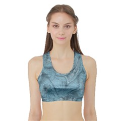 FROST DRAGON Sports Bra with Border