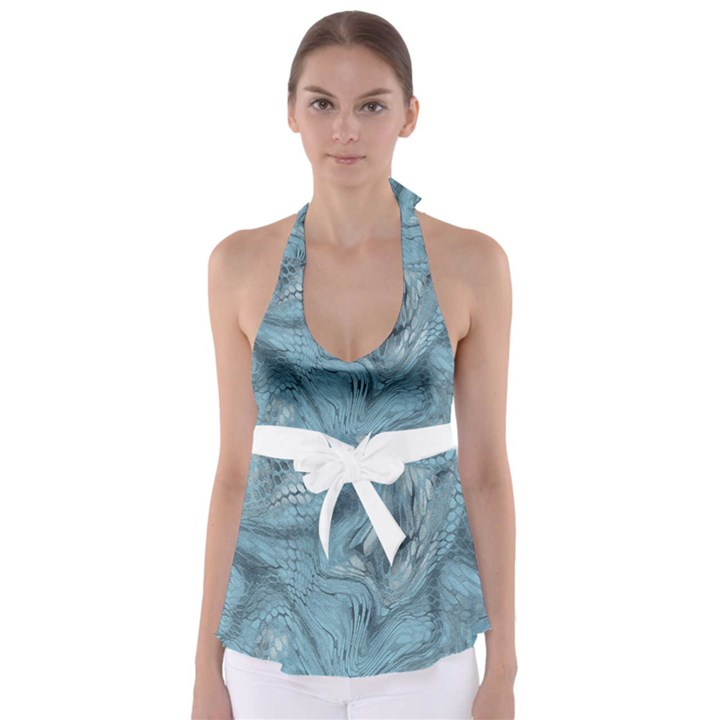 FROST DRAGON Babydoll Tankini Top